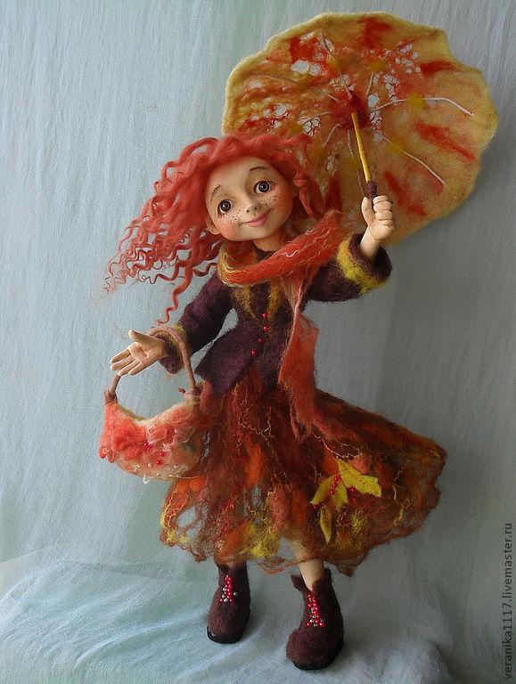 Кукла осень времена года
