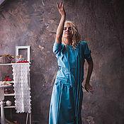 """Одежда ручной работы. Ярмарка Мастеров - ручная работа Платье """"Трансформер - Голубая гладь небес"""". Handmade."""