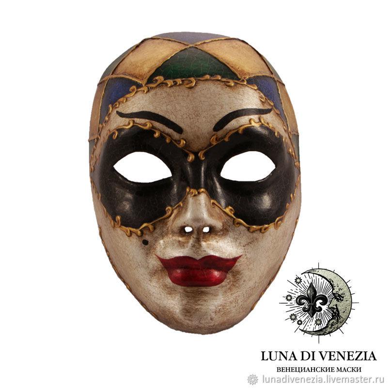 Маска венецианская Арлекино – купить в интернет-магазине ... - photo#16