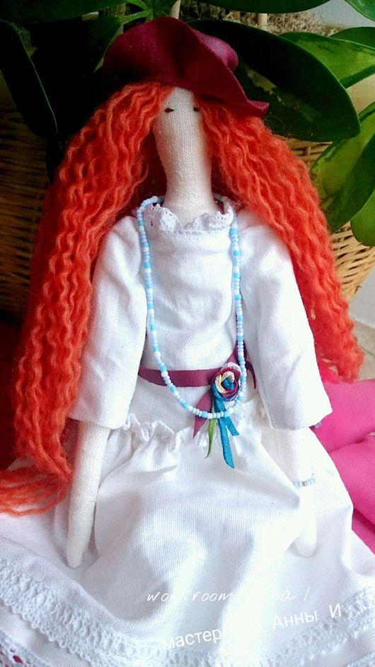 Куклы Тильды ручной работы. Ярмарка Мастеров - ручная работа. Купить Кукла Слейн.. Handmade. Кукла Тильда, кукла, куколка