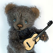 Куклы и игрушки handmade. Livemaster - original item Author`s collector`s bear Alex. Handmade.