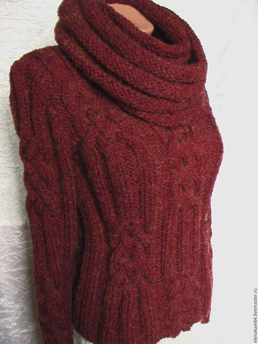 Кофты и свитера ручной работы. Ярмарка Мастеров - ручная работа. Купить свитер женский вязаный. Handmade. Свитер вязаный