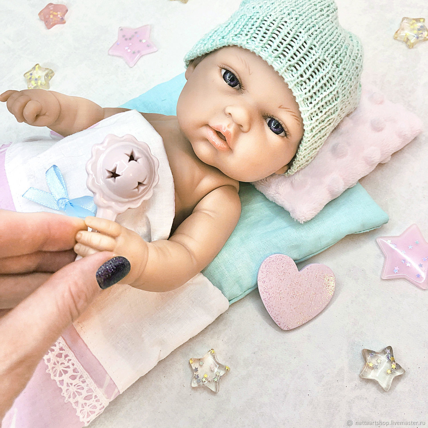Bed for dolls 26-33 cm, Clothes for dolls, Moscow,  Фото №1