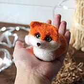 Куклы и игрушки handmade. Livemaster - original item Fox Chubby. Handmade.