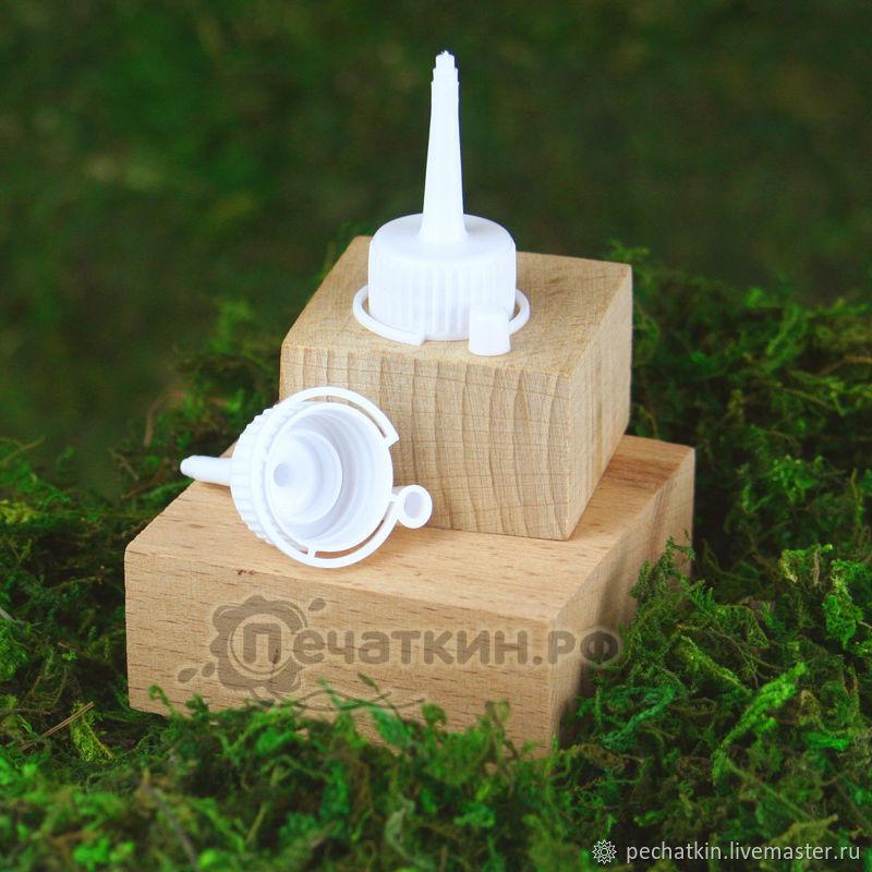 Крышка с капельницей пластиковая под флакон d 18 мм, Флаконы, Челябинск,  Фото №1