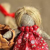 """Куклы и игрушки ручной работы. Ярмарка Мастеров - ручная работа Кукла На счастье - """"Во де-рев-не то было, во Ольхоовке"""". Handmade."""