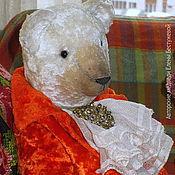 Куклы и игрушки ручной работы. Ярмарка Мастеров - ручная работа Плюшевый мишка Шарль. Handmade.