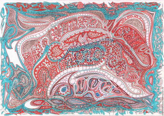 """Абстракция ручной работы. Ярмарка Мастеров - ручная работа. Купить """"Во имя... """". Handmade. Картина для интерьера, абстрактная картина"""