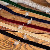 """Украшения ручной работы. Ярмарка Мастеров - ручная работа Чокер """"Летний ветер"""". Handmade."""
