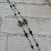 Аксессуары handmade. Livemaster - original item Chains for glasses: Space diamond. Handmade.