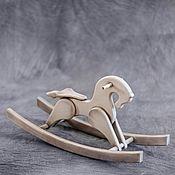 Элементы интерьера ручной работы. Ярмарка Мастеров - ручная работа Конь-качалка. Handmade.