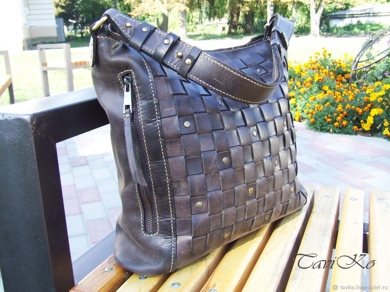 Handbags Handmade Livemaster Copy Of Bag Leather Crazy Horse