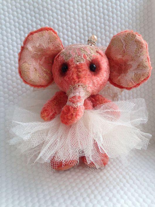 Мишки Тедди ручной работы. Ярмарка Мастеров - ручная работа. Купить Тедди-слоник Принцесса. Handmade. Игрушка ручной работы