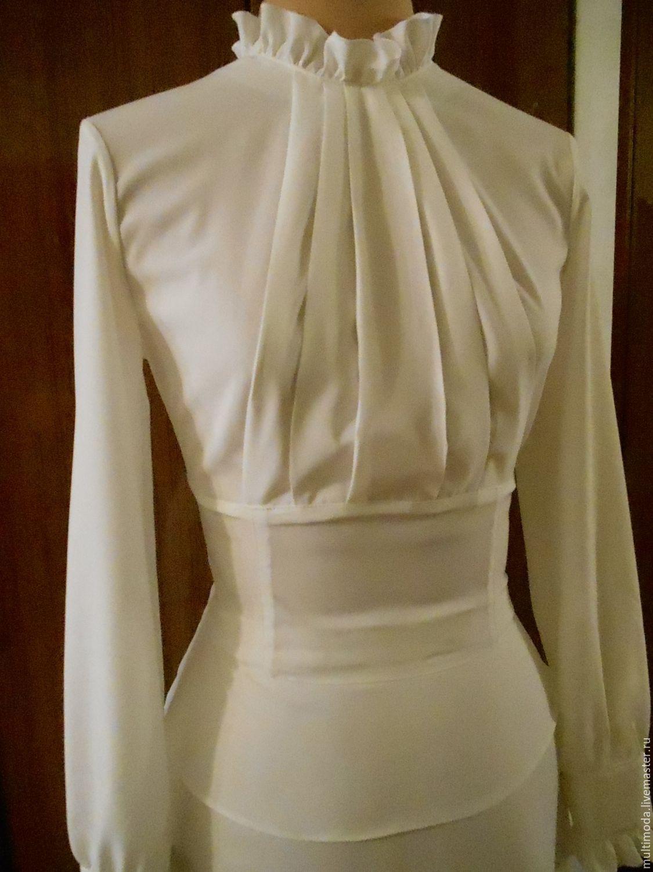 Строгая блузка доставка