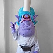 Дизайн и реклама handmade. Livemaster - original item Troll-Bergens Chef. Life-size puppet. Handmade.