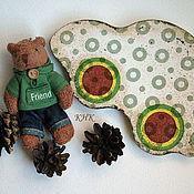 """Куклы и игрушки ручной работы. Ярмарка Мастеров - ручная работа """"Машинка"""" - деревянная игрушка. Handmade."""