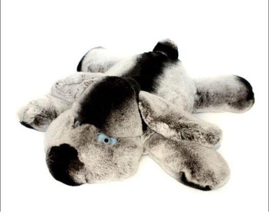 Куклы и игрушки ручной работы. Ярмарка Мастеров - ручная работа. Купить Собачка из натурального меха. Игрушки из натурального меха рекса. Handmade.