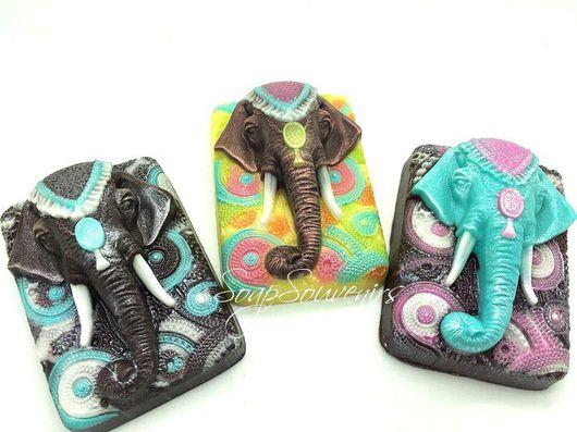 Мыло ручной работы. Ярмарка Мастеров - ручная работа. Купить Мыло Индийский слон. Handmade. Мыло ручной работы