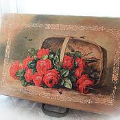 Для дома и интерьера handmade. Livemaster - original item Decor old suitcases.. Handmade.