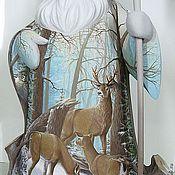 Русский стиль ручной работы. Ярмарка Мастеров - ручная работа Дед Мороз с оленями (45 см). Handmade.