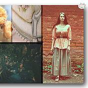 """Одежда ручной работы. Ярмарка Мастеров - ручная работа Наряд """"Донна"""". Handmade."""