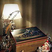 Для дома и интерьера handmade. Livemaster - original item Boxes: for Christmas toys and various small things. Handmade.