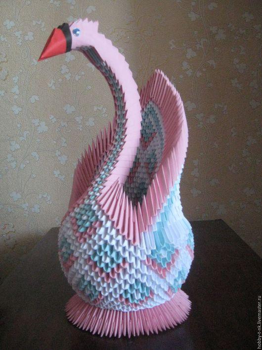 Персональные подарки ручной работы. Ярмарка Мастеров - ручная работа. Купить Лебедь. Handmade. Комбинированный, подарок, клей пва