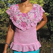 Одежда ручной работы. Ярмарка Мастеров - ручная работа Блуза летняя  МАЛЬВЫ. Handmade.