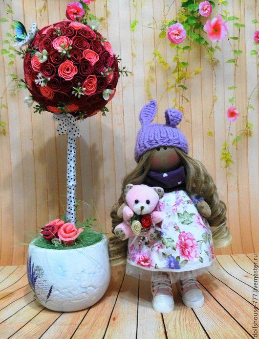 Коллекционные куклы ручной работы. Ярмарка Мастеров - ручная работа. Купить Интерьерная куколка. Handmade. Интерьерная кукла, тильда