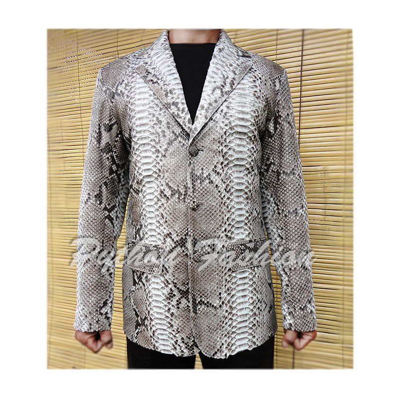 Men's jacket of Python. The jacket of Python handmade. Stylish jacket from Python custom. Pimonova mens jacket. Fashionable jacket from a Python. Men's leather jacket. men's leather jacket. French.
