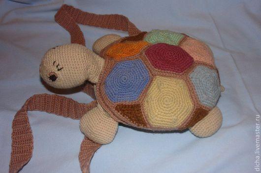Женские сумки ручной работы. Ярмарка Мастеров - ручная работа. Купить Сумка черепаха. Handmade. Сумка, черепашка, сумка женская