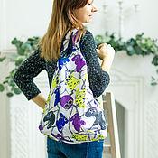 Сумки и аксессуары handmade. Livemaster - original item Shopper bag: 6 colors shopper string Bag pocket. Handmade.