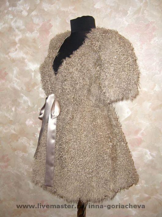 Верхняя одежда ручной работы. Ярмарка Мастеров - ручная работа. Купить жилет из меха ламы. Handmade. Мех ламы, мех