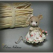 Куклы и игрушки ручной работы. Ярмарка Мастеров - ручная работа Сельская мышка. Handmade.