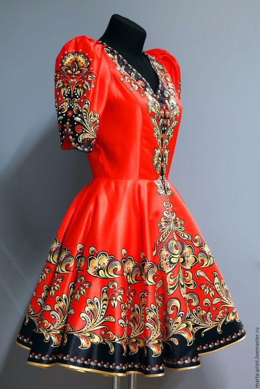 Купить Платье Русский Стиль