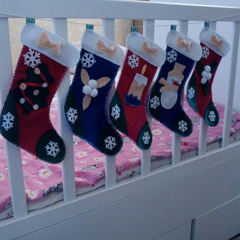 Гирлянда из рождественских носков, Подарки, Сокольское, Фото №1