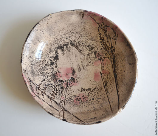 Салатники ручной работы. Ярмарка Мастеров - ручная работа. Купить Сакура. Handmade. Разноцветный, роскошный подарок, сакура, глазури по керамике