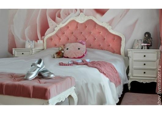 """Мебель ручной работы. Ярмарка Мастеров - ручная работа. Купить мебель для спальни """"розовое счастье"""". Handmade. Розовый, шкаф"""