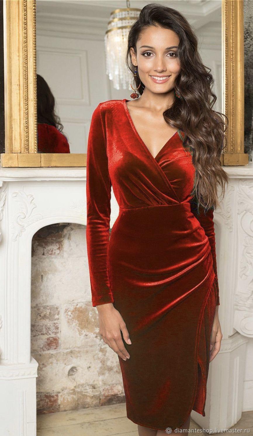 бизнес отреагировал красные бархатные платья фото как отнесется клиент