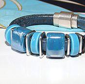 Украшения handmade. Livemaster - original item Bracelet Regaliz Blue Sky. Handmade.