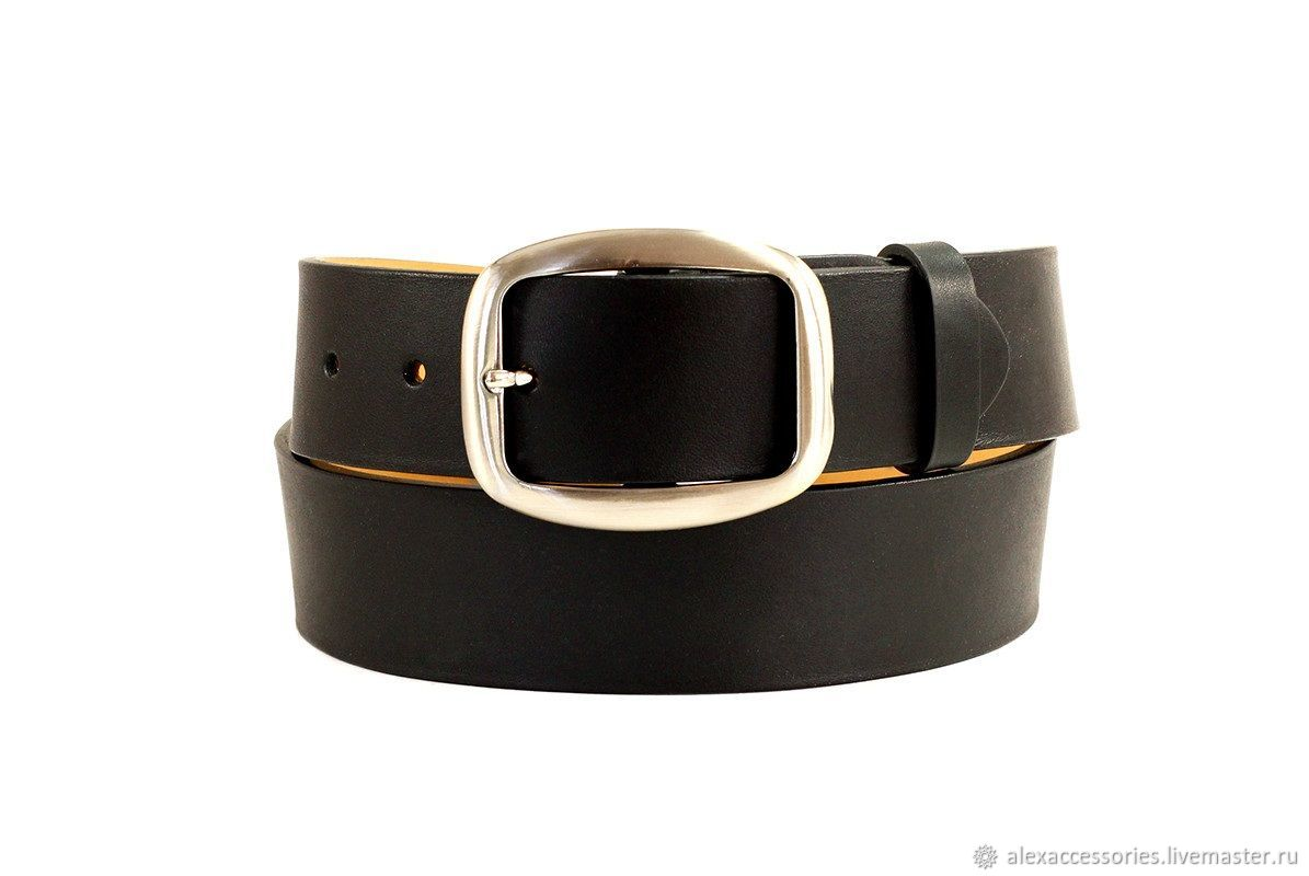 3118cc4678861 Black womens belt – shop online on Livemaster with shipping ...