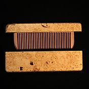 Сувениры и подарки handmade. Livemaster - original item Comb in box wood burl maple. Handmade.