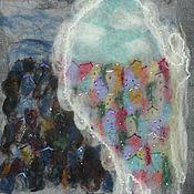 """Картины и панно ручной работы. Ярмарка Мастеров - ручная работа Панно """"Крыло ангела"""". Handmade."""