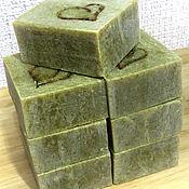 Косметика ручной работы handmade. Livemaster - original item Campaniae LAUREL soap - NEEM on nettle juice. Handmade.