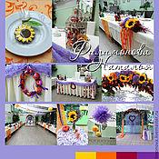 Свадебный салон ручной работы. Ярмарка Мастеров - ручная работа Осенняя свадьба. Handmade.