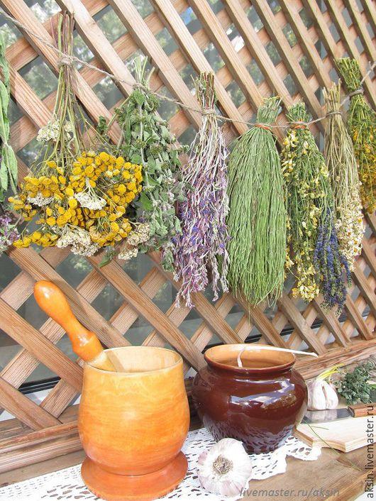 Полки для специй ручной работы. Ярмарка Мастеров - ручная работа. Купить Набор трав для кухни прованс. Handmade. Желтый, хвощ