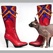 """Обувь ручной работы. Ярмарка Мастеров - ручная работа Сапоги """"Эскобар"""". Handmade."""