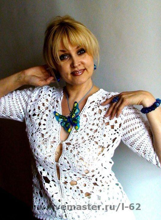 Фотография любезно предоставлена замечательным мастером, и обладательницей этого жакетика Лилией Горбач..