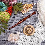 Материалы для творчества handmade. Livemaster - original item Crochet hook 8#36. Handmade.