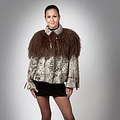 Одежда handmade. Livemaster - original item Jacket from Astrakhan fur with Lama Fantasy. Handmade.